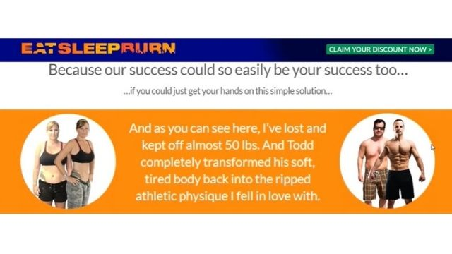 Eat Sleep Burn Before After Results