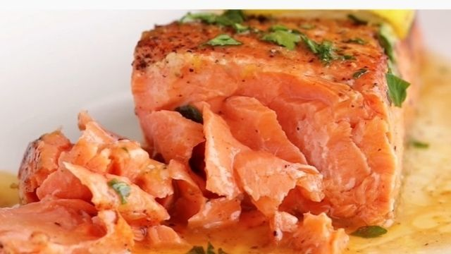 Grilled Salmon With Lemon Recipe