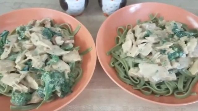 Chicken Of The Woods With Pasta Recipe