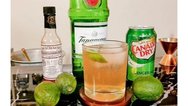 GIN AND GINGER BREWRECIPE