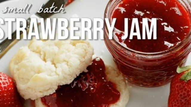 Small Batches Canned Strawberry Preserves Recipe