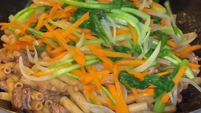 Vegetable Mixing And Fry