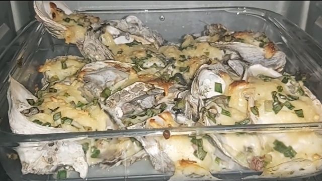 Baked Butter And Herb Talaba Recipe