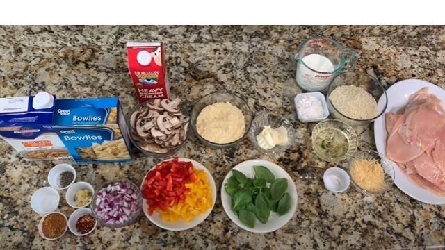 Cheesecake Factory Four Cheese Pasta Recipe Ingredients
