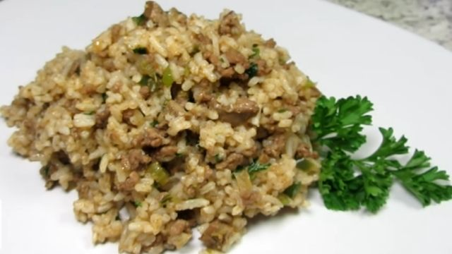 Pappadeaux Dirty Rice Recipe With Beef Or Mutton