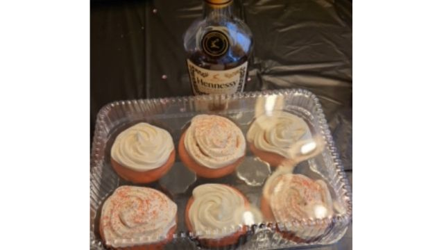Strawberry Hennessy Cupcakes Recipe