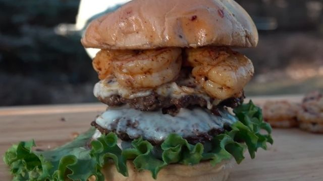 Burger Recipe With Shrimp And Ground Beef
