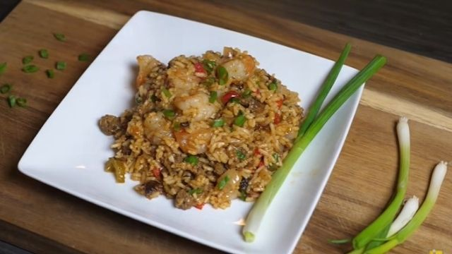 Dirty Brown Rice Recipe With Shrimp And Ground Beef